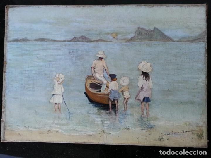 CUADRO ANTIGUO PAISAJE (Arte - Pintura - Pintura al Óleo Antigua sin fecha definida)