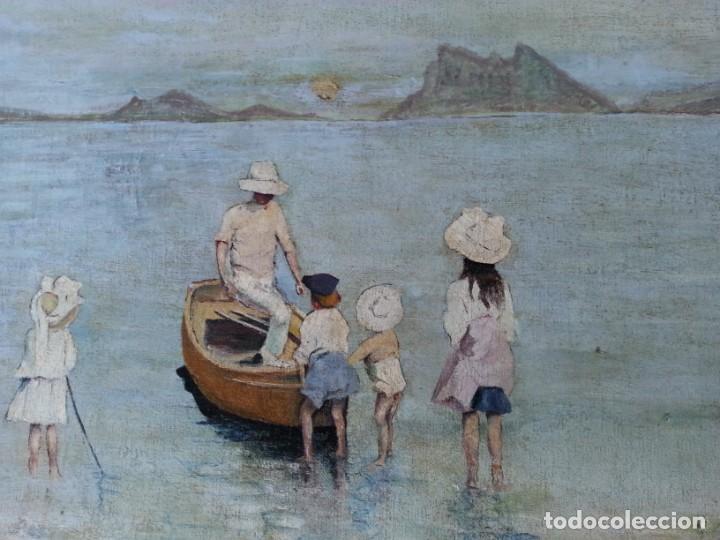 Arte: Cuadro antiguo paisaje - Foto 7 - 168051120