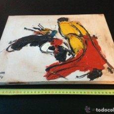 Arte: OLEO ORIGINAL JOSÉ VILLANUEVA BERRUEZO FIRMADO Y FECHADO 41 X 33 CM.. Lote 168127900