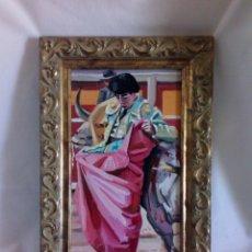 Arte: ÓLEO SOBRE TABLEX FIRMADO J. HURTADO. Lote 168163380