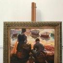 Arte: LAS HIJAS DEL PESCADOR, VICENTE GINER. Lote 168227400