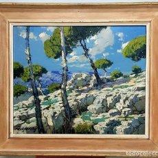 Arte: OLEO SOBRE LIENZO DE FRANCISCO PAYÁ SANCHÍS. Lote 168235580