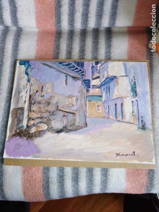 OLEO SOBRE LIENZO LA ALCARRIA XAVIOT (Arte - Pintura - Pintura al Óleo Contemporánea )