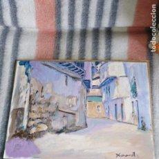 Arte: OLEO SOBRE LIENZO LA ALCARRIA XAVIOT. Lote 168269392