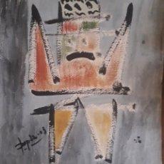 Arte: CUADRO DEL PINTOR XAVIER DOPAZO PINTOR. Lote 168277018