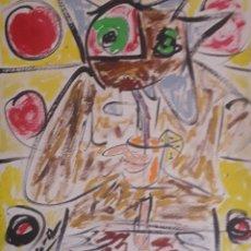 Arte: CUADRO DEL PINTOR XAVIER DOPAZO PINTOR. Lote 168277182