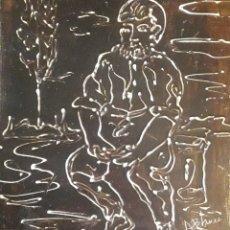 Arte: CUADRO DEL PINTOR ANTONIO BLANCO. Lote 168278108