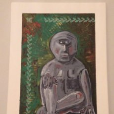 Arte - OLLAPARO.(2018) Alberto R. Freire. Acrílico sobre lienzo 25x35cm - 168292744