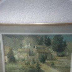 Arte: BONITA PINTURA HECHA EN LIENZO . Lote 168388180
