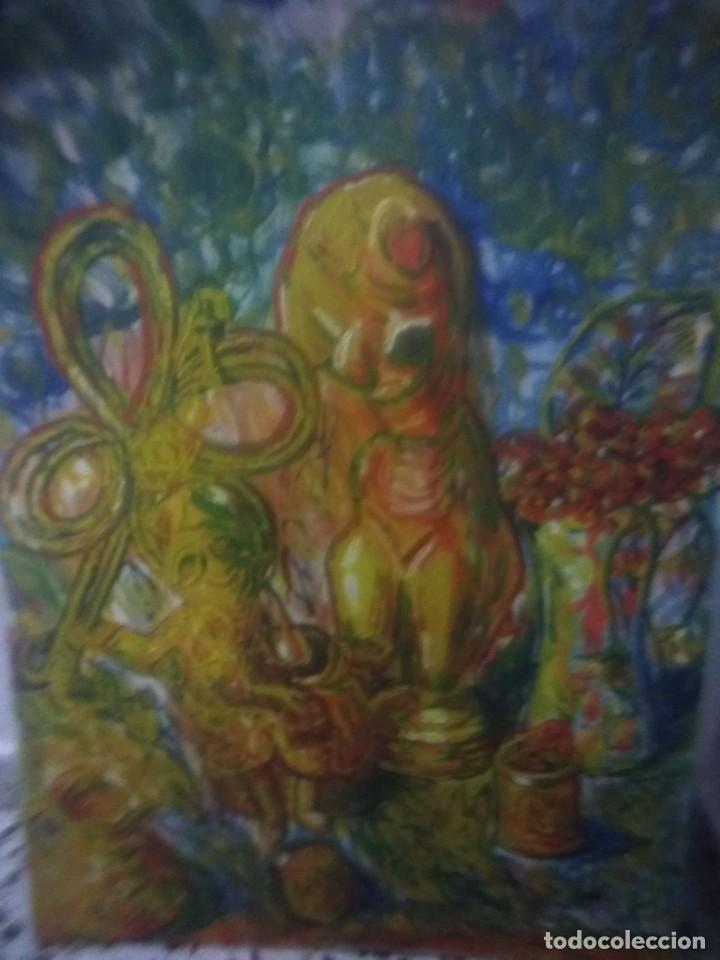 LIENZO FIRMADO BAEZA. (Arte - Pintura - Pintura al Óleo Contemporánea )