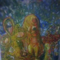 Arte: LIENZO FIRMADO BAEZA.. Lote 168391144