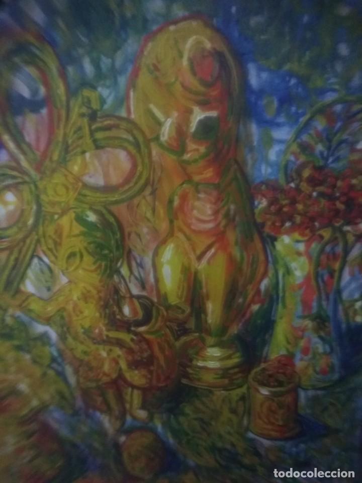 Arte: Lienzo firmado Baeza. - Foto 2 - 168391144