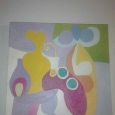 Arte: OBRA SOBRE LIENZO DEL PINTOR CANARIO RAFAEL BETHENCOURT-RAFAELY AÑO 59 55X46 CM. Lote 168400908
