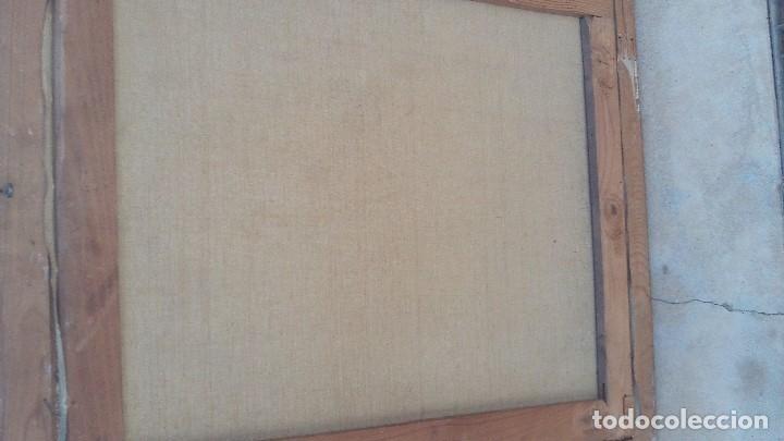 Arte: retrato al oleo de militar republicano ,segunda republica,firmado por juaquin tudela y perales - Foto 6 - 168417288