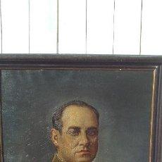 Arte: RETRATO AL OLEO DE MILITAR REPUBLICANO ,SEGUNDA REPUBLICA,FIRMADO POR JUAQUIN TUDELA Y PERALES. Lote 168417288
