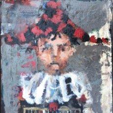 Arte: JORDI MERCADÉ I FARRÉS (1923-2005) - ARLEQUÍN - ÓLEO. Lote 168474868