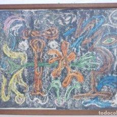 Kunst - DE MUSEO- RARISIMA OBRA DE LUIS GARCIA ABRINES PINTOR SURREALISTA ARAGONES - 168479688