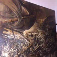 Arte: ÓLEO SOBRE TELA DE GRANDES DIMENSIONES 3,50X2 APROXIMADAMENTE.(SE PUEDE VER EN MALLORCA). Lote 168523916