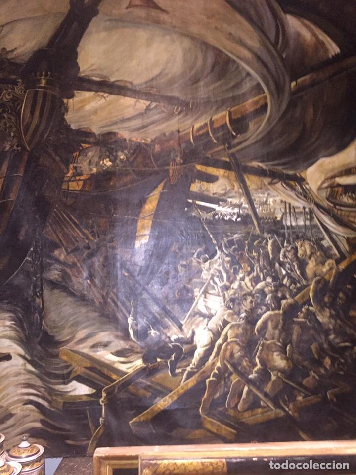 Arte: Óleo sobre tela de grandes dimensiones 3,50x2 aproximadamente.(se puede ver en Mallorca) - Foto 2 - 168523916