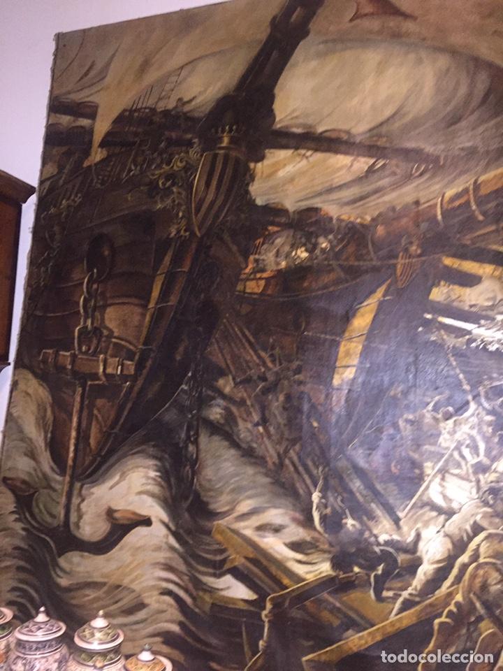 Arte: Óleo sobre tela de grandes dimensiones 3,50x2 aproximadamente.(se puede ver en Mallorca) - Foto 3 - 168523916