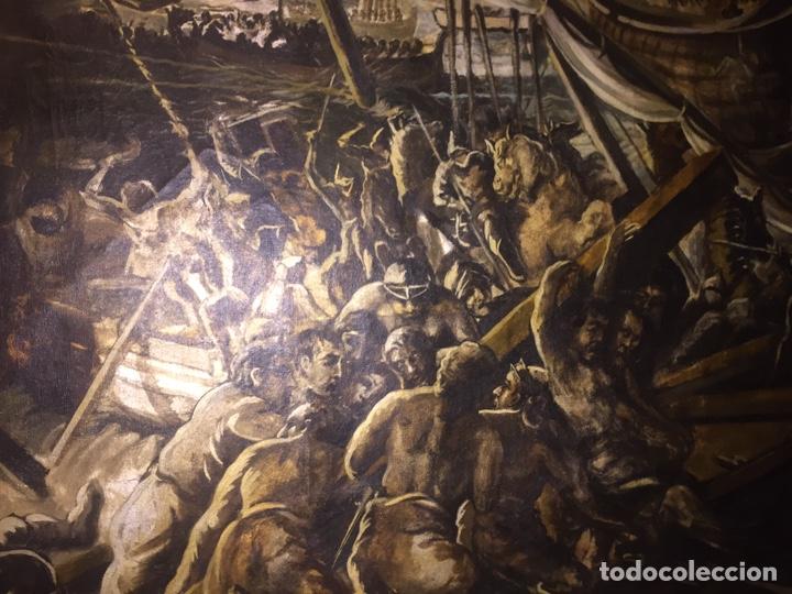 Arte: Óleo sobre tela de grandes dimensiones 3,50x2 aproximadamente.(se puede ver en Mallorca) - Foto 4 - 168523916