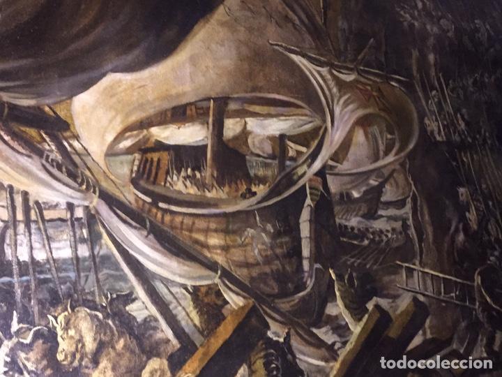 Arte: Óleo sobre tela de grandes dimensiones 3,50x2 aproximadamente.(se puede ver en Mallorca) - Foto 5 - 168523916