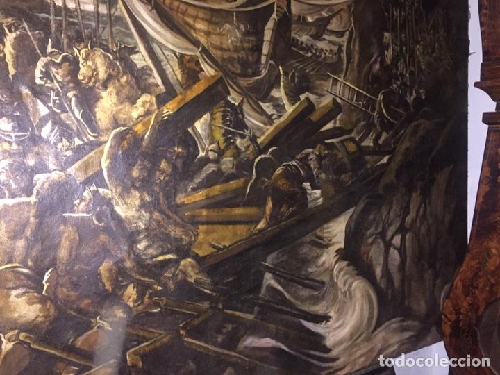 Arte: Óleo sobre tela de grandes dimensiones 3,50x2 aproximadamente.(se puede ver en Mallorca) - Foto 6 - 168523916