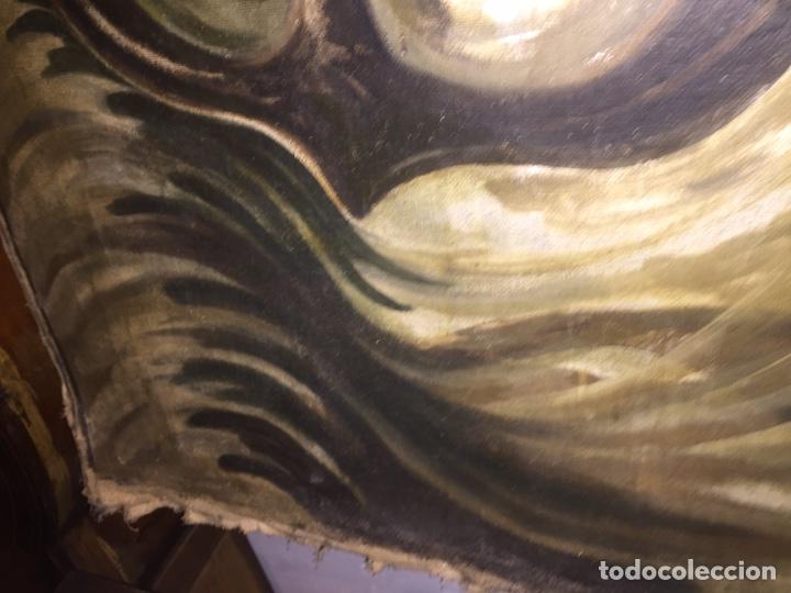 Arte: Óleo sobre tela de grandes dimensiones 3,50x2 aproximadamente.(se puede ver en Mallorca) - Foto 7 - 168523916