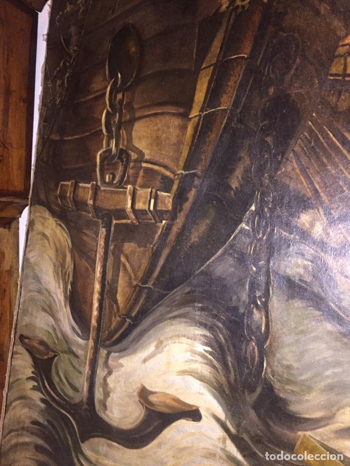 Arte: Óleo sobre tela de grandes dimensiones 3,50x2 aproximadamente.(se puede ver en Mallorca) - Foto 8 - 168523916