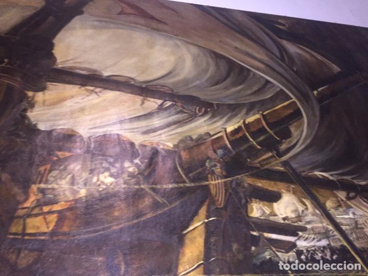 Arte: Óleo sobre tela de grandes dimensiones 3,50x2 aproximadamente.(se puede ver en Mallorca) - Foto 9 - 168523916