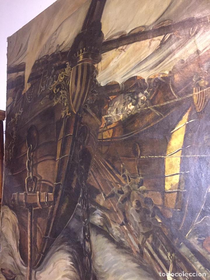 Arte: Óleo sobre tela de grandes dimensiones 3,50x2 aproximadamente.(se puede ver en Mallorca) - Foto 10 - 168523916
