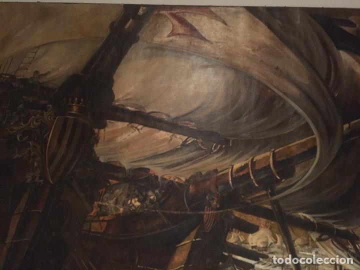 Arte: Óleo sobre tela de grandes dimensiones 3,50x2 aproximadamente.(se puede ver en Mallorca) - Foto 12 - 168523916