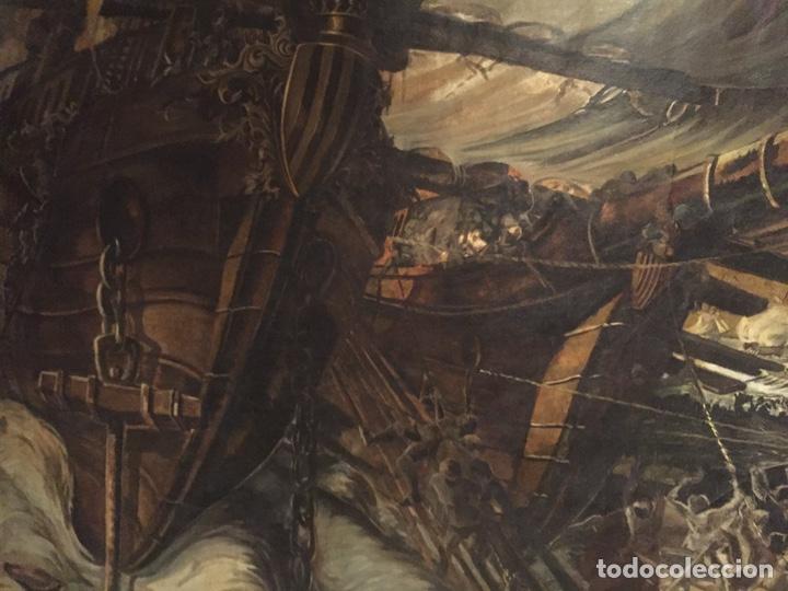 Arte: Óleo sobre tela de grandes dimensiones 3,50x2 aproximadamente.(se puede ver en Mallorca) - Foto 14 - 168523916