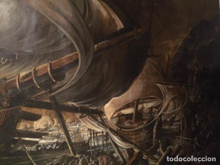 Arte: Óleo sobre tela de grandes dimensiones 3,50x2 aproximadamente.(se puede ver en Mallorca) - Foto 16 - 168523916