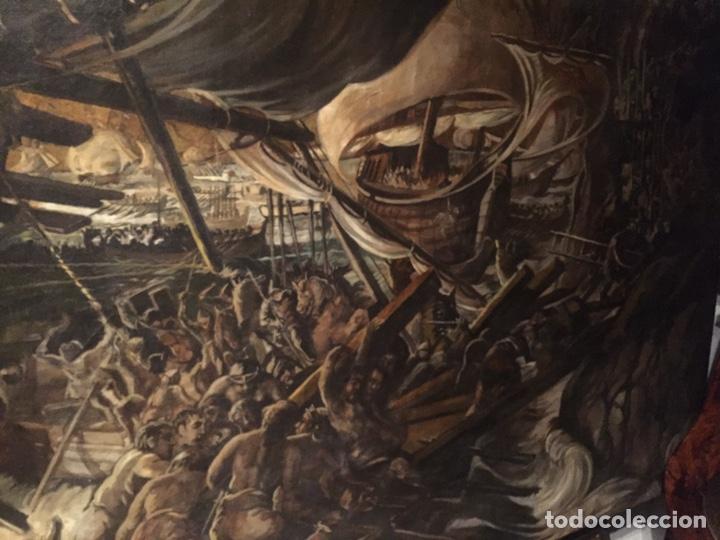 Arte: Óleo sobre tela de grandes dimensiones 3,50x2 aproximadamente.(se puede ver en Mallorca) - Foto 17 - 168523916