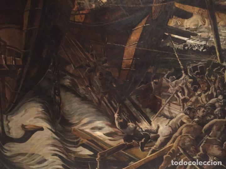 Arte: Óleo sobre tela de grandes dimensiones 3,50x2 aproximadamente.(se puede ver en Mallorca) - Foto 19 - 168523916