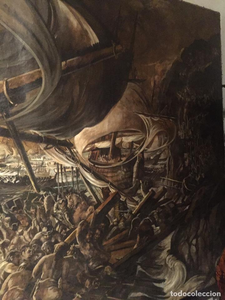 Arte: Óleo sobre tela de grandes dimensiones 3,50x2 aproximadamente.(se puede ver en Mallorca) - Foto 20 - 168523916