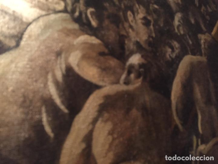 Arte: Óleo sobre tela de grandes dimensiones 3,50x2 aproximadamente.(se puede ver en Mallorca) - Foto 21 - 168523916