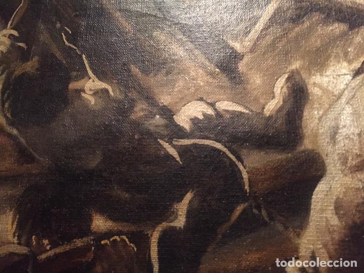Arte: Óleo sobre tela de grandes dimensiones 3,50x2 aproximadamente.(se puede ver en Mallorca) - Foto 22 - 168523916
