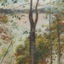 Arte: ELISEO MEIFREN (1859-1940). ÓLEO/TABLEX 46 X 37 CM. FIRMADO Y TITULADO. CON MARCO DE ÉPOCA. C.1915.. Lote 168527740