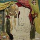 Arte: MARCELINO DE UNCETA (1835-1905). ÓLEO/CARTÓN 34,5 X 24 CM. BOCETO LEPANTO. FIRMADO.. Lote 168544820