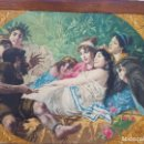 Arte: TAPIZ PINTADO A MANO .R.FONTANA.. Lote 168549040