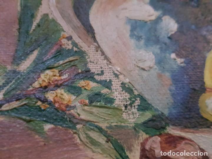 Arte: Pareja de bodegones sobre lienzo. - Foto 5 - 168601272