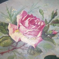 Arte: OLEO SOBRE PALETA DE PINTOR .. Lote 168611756