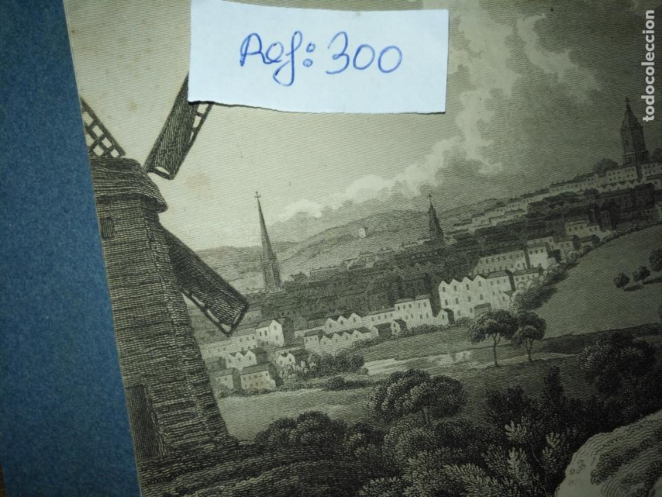 Arte: antiguo grabado original - BIRMINGHAM, England, panoramica circa 1764 - Foto 5 - 168755232