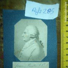 Arte: ANTIGUO GRABADO ORIGINAL JAMES BEATTIE (1735-1803). SCOTTISH POETA AQUATINT, ENGLISH, 1801. Lote 168755948