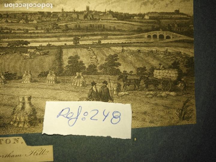 Arte: antiguo grabado original preston from pennyhorsham hill circa 1923/24 apxoimadamente - Foto 5 - 168756124