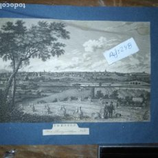 Arte: ANTIGUO GRABADO ORIGINAL PRESTON FROM PENNYHORSHAM HILL CIRCA 1923/24 APXOIMADAMENTE. Lote 168756124