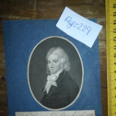 Arte: ANTIGUO GRABADO ORIGINAL - WILLIAM HENRY LAMBTON, 1764 - 1797. . Lote 168756996