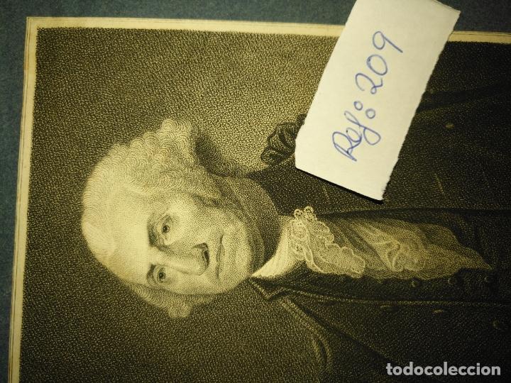Arte: grabado original - george washington firt president of the united states of america grabado - Foto 2 - 168758660